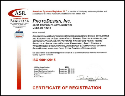 PDI - ISO90001 Certification